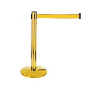 Cột chắn inox dây vàng có thiết kế đặc biệt