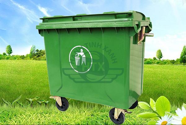 Thùng rác công cộng dùng trong các công viên, khu giải trí