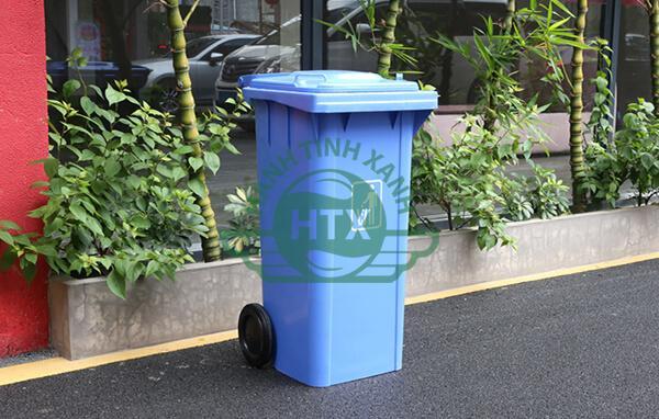 Thùng rác nhựa có vai trò quan trọng trong đời sống