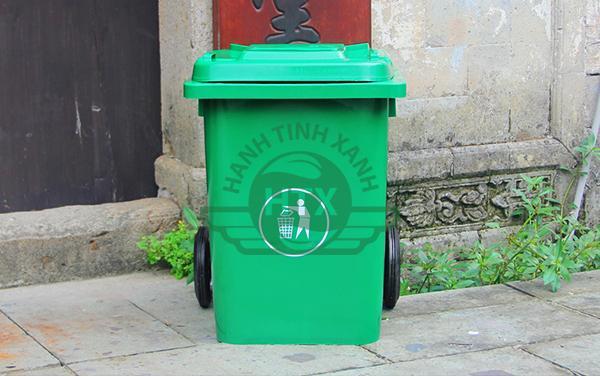 Trang bị thùng rác nhựa giúp cảnh quan đẹp hơn, không khí trong lành hơn