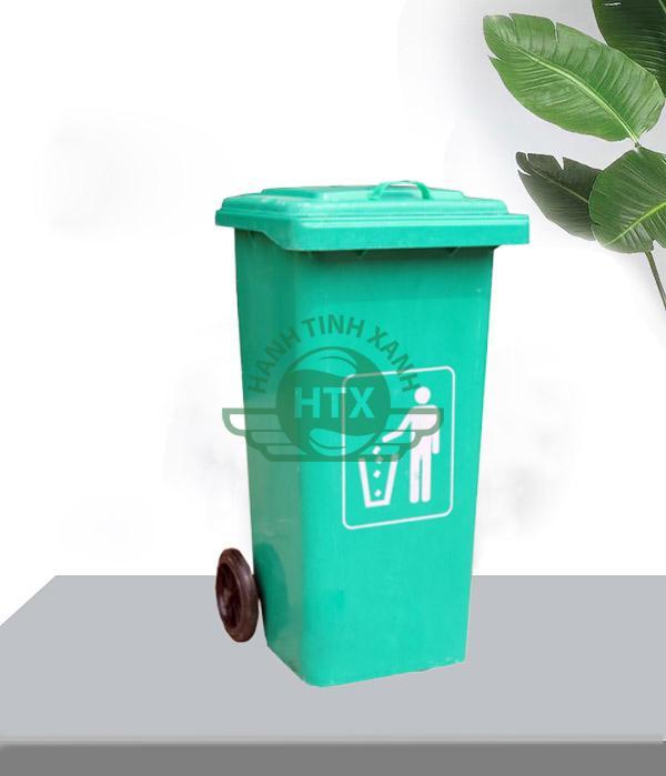 Thùng rác được sản xuất từ chất liệu nhựa composite
