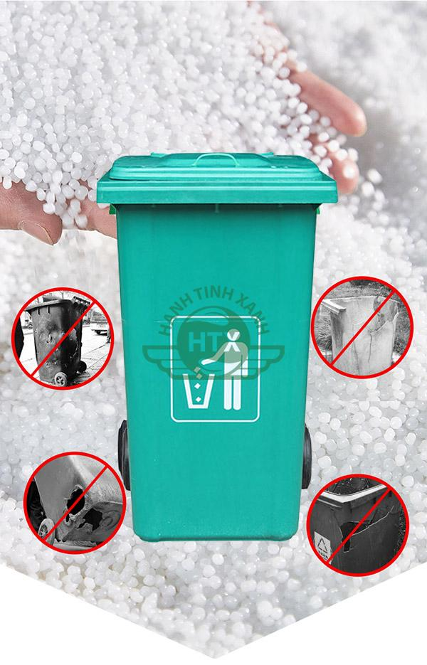 Các đặc tính của thùng rác nhựa Composite