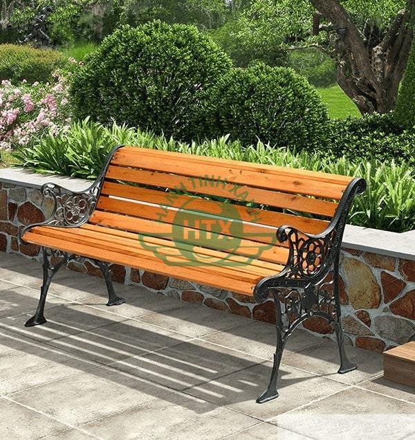 Hình ảnh thực tế ghế công viên gang đúc