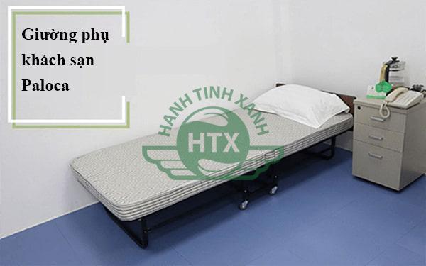 Hình ảnh thực tế giường phụ khách sạn nệm gấp được sử dụng trong khách sạn