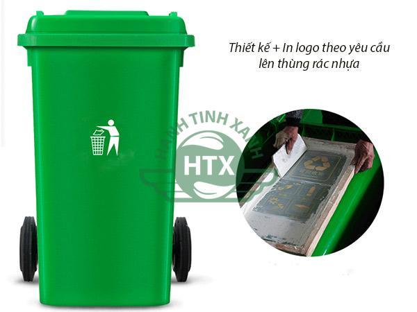 Có thể in lên thùng rác theo ý muốn của người mua