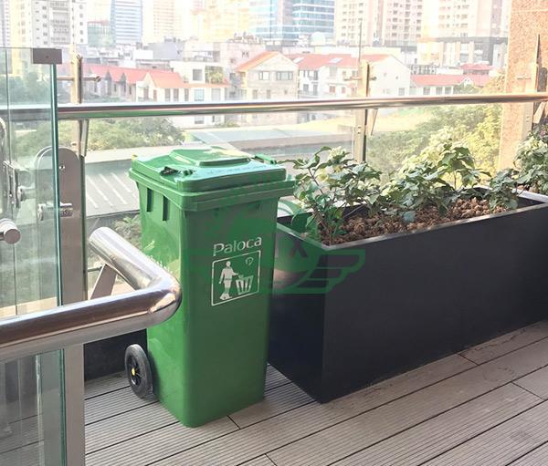 cấp 100 thùng rác nhựa 120L