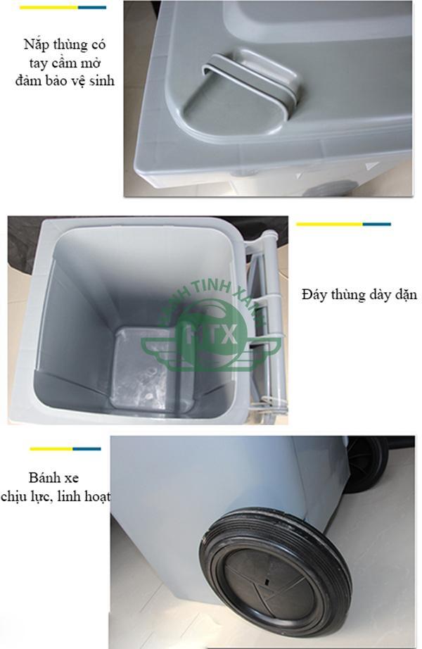 Thùng rác đảm bảo chất lượng và giá thành