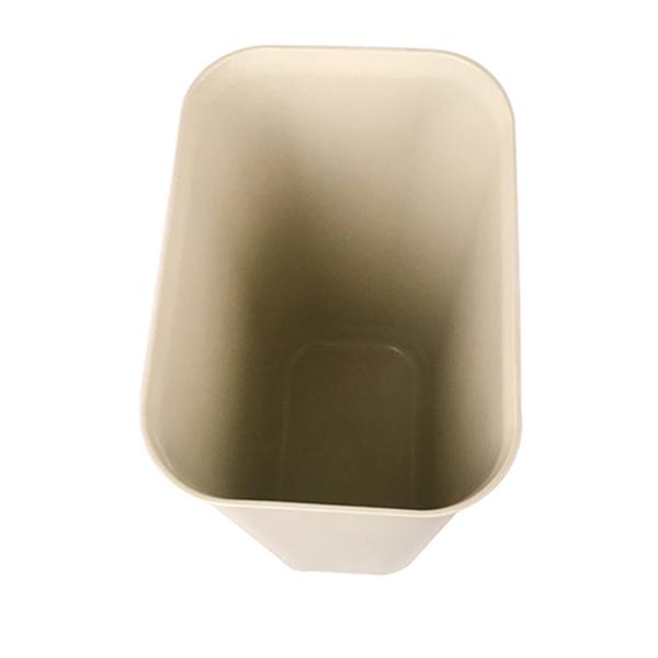 Thùng rác kích thước và dung tích nhỏ gọn, bề mặt nhẵn mịn, dễ vệ sinh