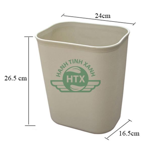 Thông số kích thước nhựa chống cháy dung tích 8 lít
